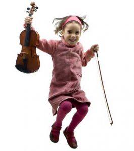 barn fiolin undervisning