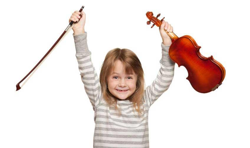 barn fiolin skole